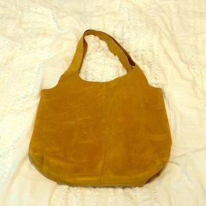 Old Navy faux suede tote